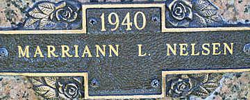 NELSEN, MARRIANN L - Mohave County, Arizona | MARRIANN L NELSEN - Arizona Gravestone Photos