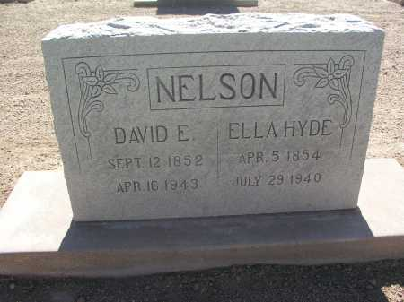 HYDE NELSON, ELLA - Mohave County, Arizona | ELLA HYDE NELSON - Arizona Gravestone Photos