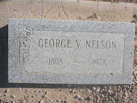 NELSON, GEORGE V - Mohave County, Arizona   GEORGE V NELSON - Arizona Gravestone Photos