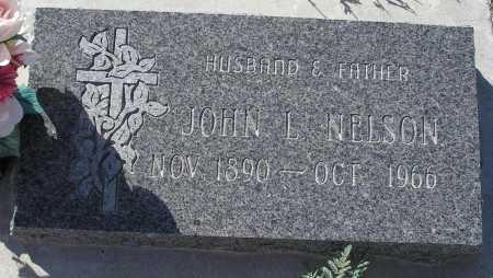 NELSON, JOHN L. - Mohave County, Arizona | JOHN L. NELSON - Arizona Gravestone Photos