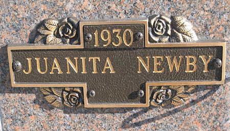 NEWBY, JUANITA - Mohave County, Arizona   JUANITA NEWBY - Arizona Gravestone Photos