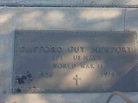 NEWPORT, CLIFFORD GUY - Mohave County, Arizona | CLIFFORD GUY NEWPORT - Arizona Gravestone Photos