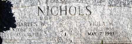 NICHOLS, VIOLA M - Mohave County, Arizona   VIOLA M NICHOLS - Arizona Gravestone Photos