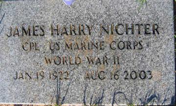 NICHTER, JAMES HARRY - Mohave County, Arizona | JAMES HARRY NICHTER - Arizona Gravestone Photos