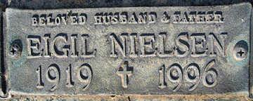 NIELSEN, EIGIL - Mohave County, Arizona | EIGIL NIELSEN - Arizona Gravestone Photos
