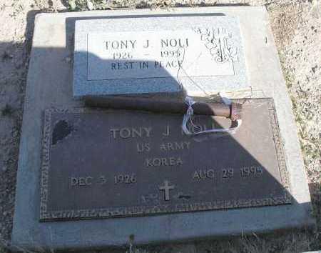 NOLI, TONY J. - Mohave County, Arizona | TONY J. NOLI - Arizona Gravestone Photos