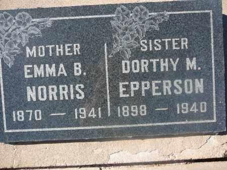 EPPERSON, DORTHY M - Mohave County, Arizona | DORTHY M EPPERSON - Arizona Gravestone Photos