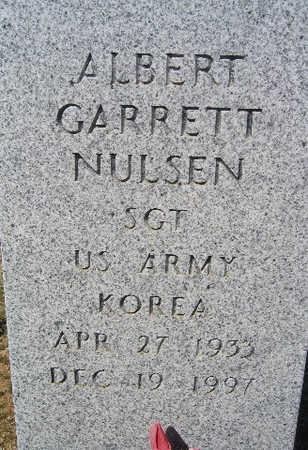 NULSEN, ALBERT GARRETT - Mohave County, Arizona | ALBERT GARRETT NULSEN - Arizona Gravestone Photos