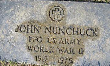 NUNCHUCK, JOHN - Mohave County, Arizona | JOHN NUNCHUCK - Arizona Gravestone Photos