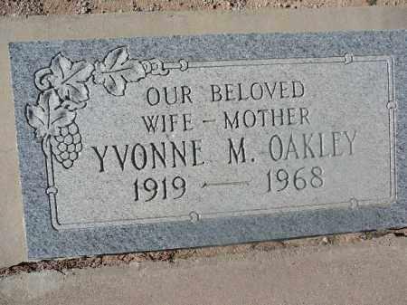 OAKLEY, YVONNE M - Mohave County, Arizona   YVONNE M OAKLEY - Arizona Gravestone Photos