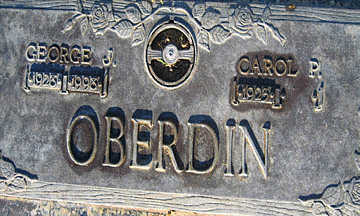 OBERDIN, GEORGE J - Mohave County, Arizona | GEORGE J OBERDIN - Arizona Gravestone Photos
