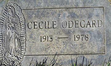 ODEGARD, CECILE M - Mohave County, Arizona | CECILE M ODEGARD - Arizona Gravestone Photos