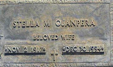 OJANPERA, STELLA M - Mohave County, Arizona | STELLA M OJANPERA - Arizona Gravestone Photos