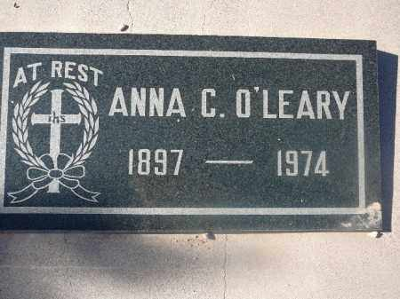 O'LEARY, ANNA C - Mohave County, Arizona | ANNA C O'LEARY - Arizona Gravestone Photos