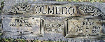 OLMEDO, IRENE - Mohave County, Arizona | IRENE OLMEDO - Arizona Gravestone Photos