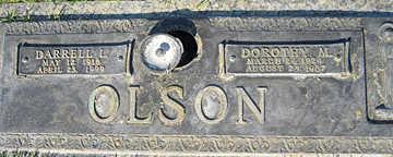 OLSON, DOROTHY M - Mohave County, Arizona   DOROTHY M OLSON - Arizona Gravestone Photos