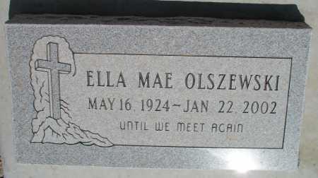 OLSZEWSKI, ELLA MAE - Mohave County, Arizona | ELLA MAE OLSZEWSKI - Arizona Gravestone Photos