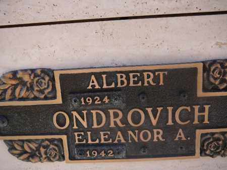 ONDROVICH, ALBERT - Mohave County, Arizona | ALBERT ONDROVICH - Arizona Gravestone Photos