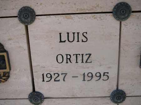 ORTIZ, LUIS - Mohave County, Arizona | LUIS ORTIZ - Arizona Gravestone Photos