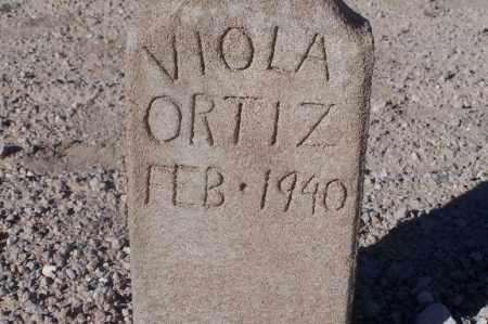 ORTIZ, VIOLA - Mohave County, Arizona | VIOLA ORTIZ - Arizona Gravestone Photos