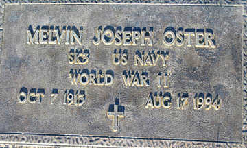 OSTER, MELVIN JOSEPH - Mohave County, Arizona | MELVIN JOSEPH OSTER - Arizona Gravestone Photos