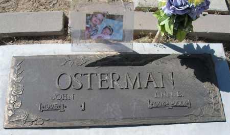 OSTERMAN, ANN B. - Mohave County, Arizona | ANN B. OSTERMAN - Arizona Gravestone Photos