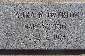 OVERTON, LAURA M - Mohave County, Arizona | LAURA M OVERTON - Arizona Gravestone Photos