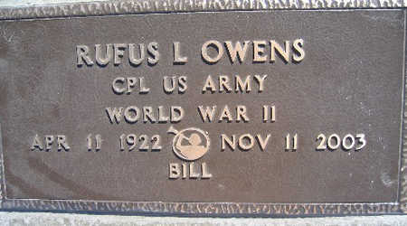OWENS, RUFUS L - Mohave County, Arizona   RUFUS L OWENS - Arizona Gravestone Photos