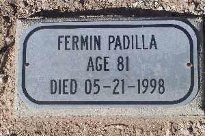 PADILLA, FERMIN - Mohave County, Arizona | FERMIN PADILLA - Arizona Gravestone Photos