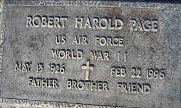 PAGE, ROBERT HAROLD - Mohave County, Arizona | ROBERT HAROLD PAGE - Arizona Gravestone Photos