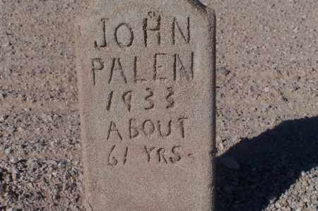 PALEN, JOHN - Mohave County, Arizona   JOHN PALEN - Arizona Gravestone Photos