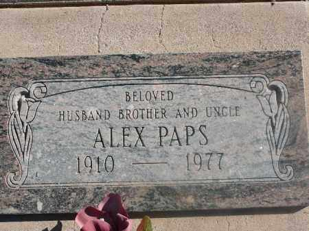 PAPS, ALEX - Mohave County, Arizona | ALEX PAPS - Arizona Gravestone Photos