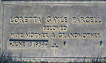 PARCELL, LORETTA GAYLE - Mohave County, Arizona | LORETTA GAYLE PARCELL - Arizona Gravestone Photos
