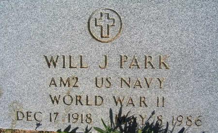 PARK, WILLIAM J - Mohave County, Arizona | WILLIAM J PARK - Arizona Gravestone Photos