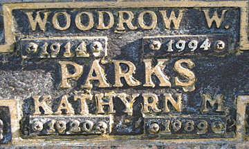 PARKS, WOODROW W - Mohave County, Arizona | WOODROW W PARKS - Arizona Gravestone Photos