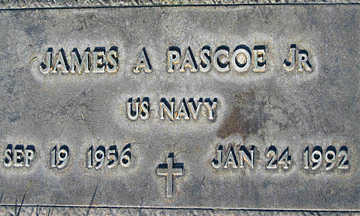 PASCO JR., JAMES A. - Mohave County, Arizona | JAMES A. PASCO JR. - Arizona Gravestone Photos