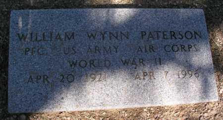 PATERSON, WILLIAM WYNN - Mohave County, Arizona | WILLIAM WYNN PATERSON - Arizona Gravestone Photos