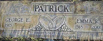PATRICK, GEORGE E - Mohave County, Arizona | GEORGE E PATRICK - Arizona Gravestone Photos