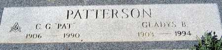 "PATTERSON, C G ""PAT"" - Mohave County, Arizona | C G ""PAT"" PATTERSON - Arizona Gravestone Photos"