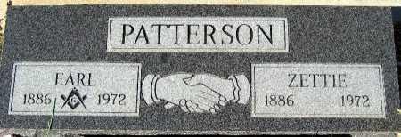 PATTERSON, ZETTIE - Mohave County, Arizona | ZETTIE PATTERSON - Arizona Gravestone Photos