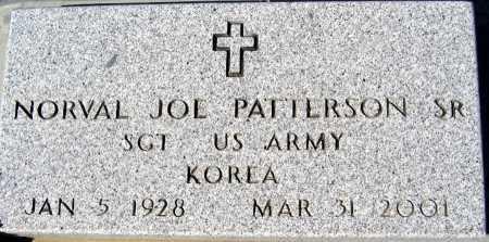 PATTERSON SR, NORVAL JOE - Mohave County, Arizona | NORVAL JOE PATTERSON SR - Arizona Gravestone Photos