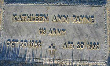 PAYNE, KATHLEEN ANN - Mohave County, Arizona | KATHLEEN ANN PAYNE - Arizona Gravestone Photos