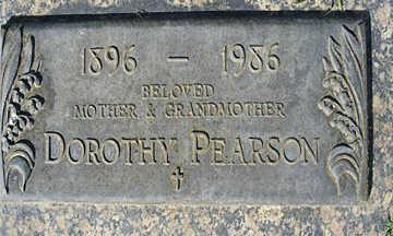 PEARSON, DOROTHY - Mohave County, Arizona | DOROTHY PEARSON - Arizona Gravestone Photos