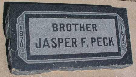PECK, JASPER F. - Mohave County, Arizona | JASPER F. PECK - Arizona Gravestone Photos