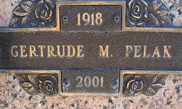PELAK, GERTURDE M - Mohave County, Arizona | GERTURDE M PELAK - Arizona Gravestone Photos