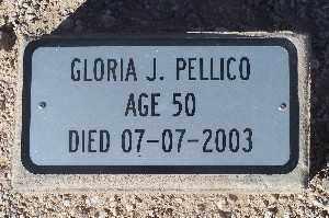 PELLICO, GLORIA J - Mohave County, Arizona | GLORIA J PELLICO - Arizona Gravestone Photos