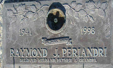 PERIANDRI, RAYMOND J - Mohave County, Arizona | RAYMOND J PERIANDRI - Arizona Gravestone Photos