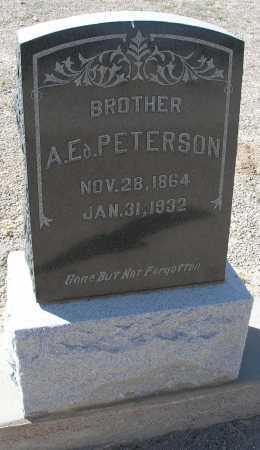 PETERSON, A. ED. - Mohave County, Arizona | A. ED. PETERSON - Arizona Gravestone Photos
