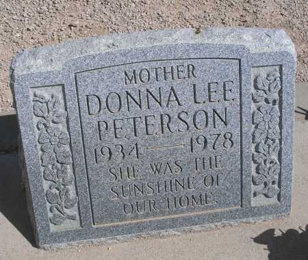 PETERSON, DONNA LEE - Mohave County, Arizona | DONNA LEE PETERSON - Arizona Gravestone Photos