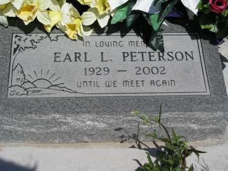 PETERSON, EARL L. - Mohave County, Arizona | EARL L. PETERSON - Arizona Gravestone Photos